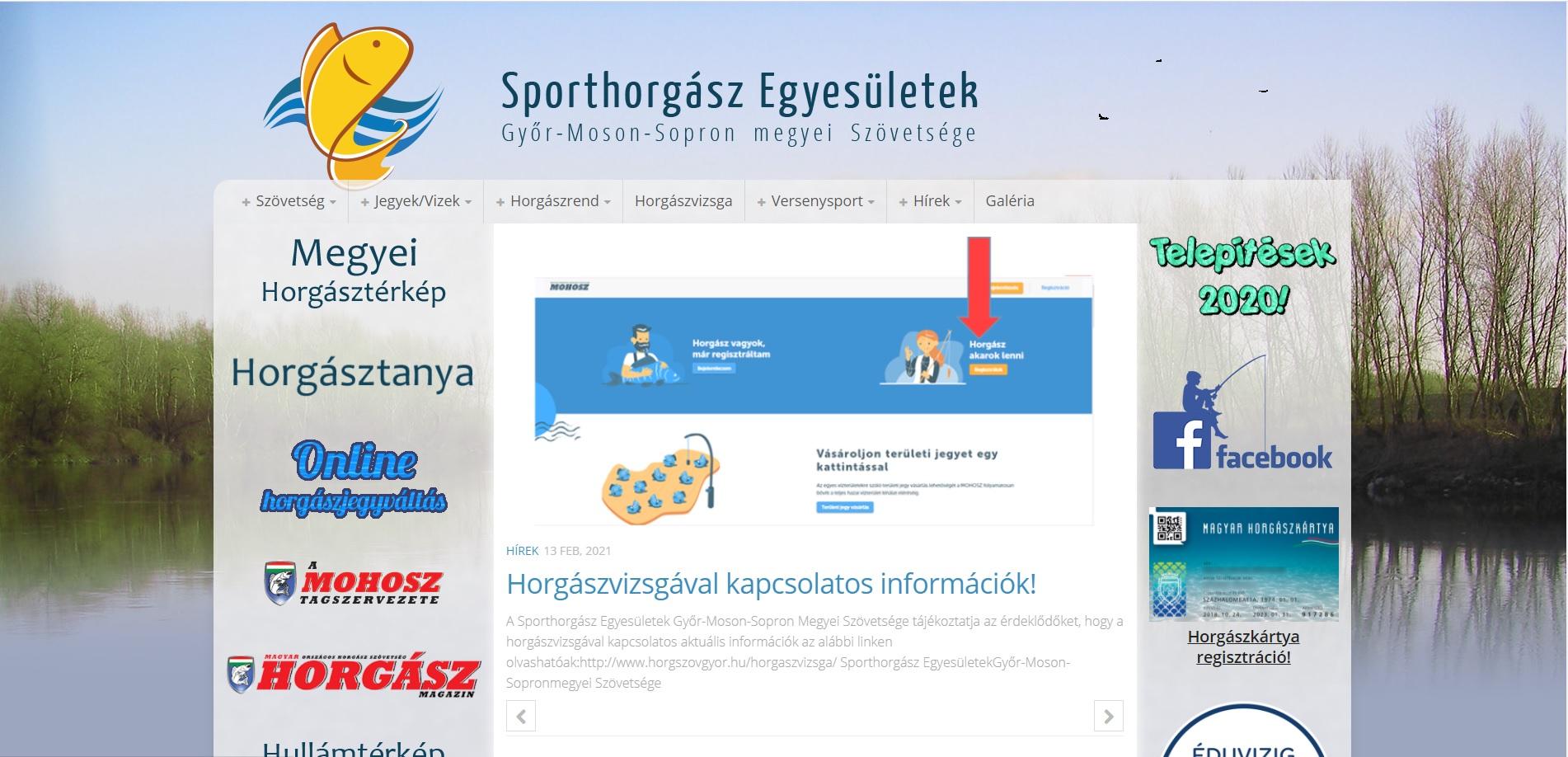 Sporthorgász egyesület